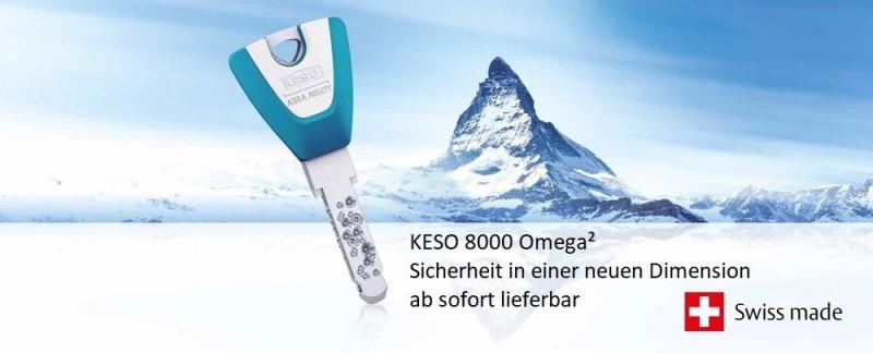 KESO 8000 Omega² - Sicherheit in einer neuen Dimension